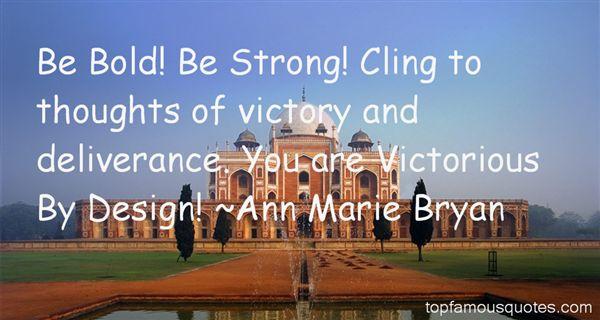 Ann Marie Bryan Quotes