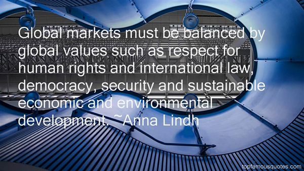 Anna Lindh Quotes