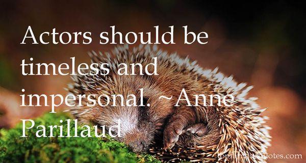 Anne Parillaud Quotes