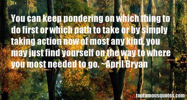 April Bryan Quotes