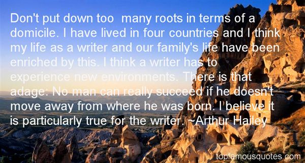 Arthur Hailey Quotes