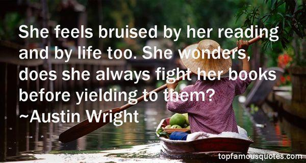 Austin Wright Quotes