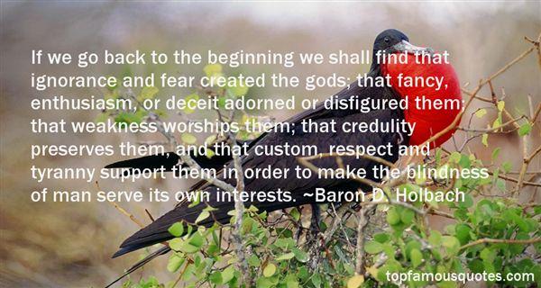 Baron D. Holbach Quotes