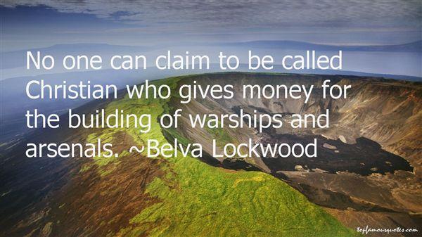 Belva Lockwood Quotes