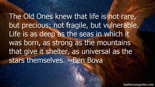 Ben Bova Quotes