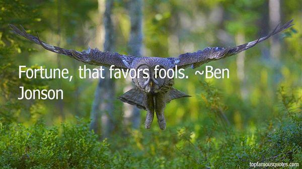 Ben Jonson Quotes
