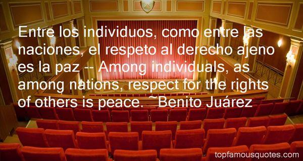 Benito Juárez Quotes