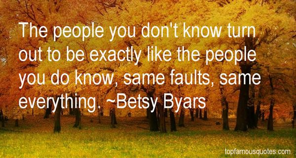 Betsy Byars Quotes