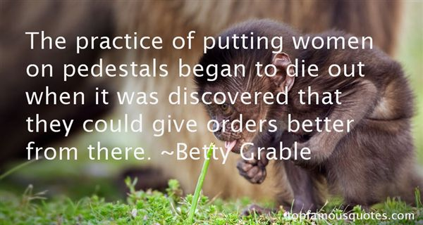 Betty Grable Quotes