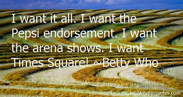 Betty Who Quotes