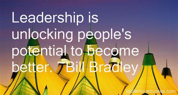 Bill Bradley Quotes