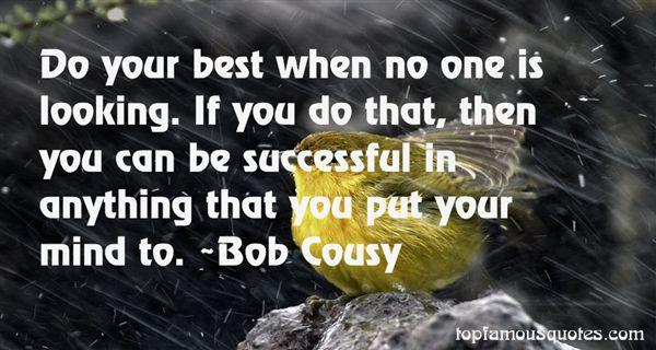 Bob Cousy Quotes