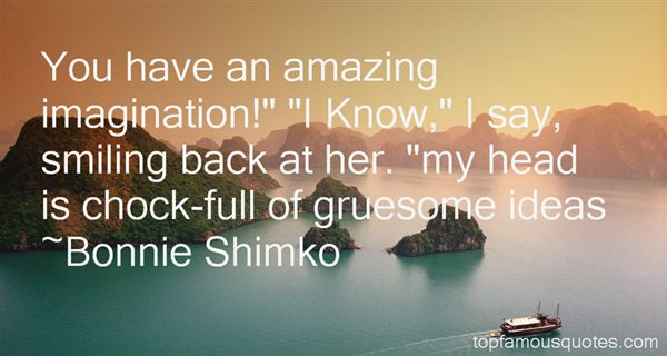 Bonnie Shimko Quotes