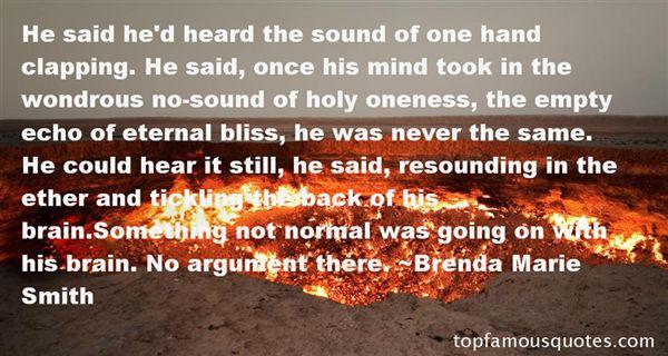 Brenda Marie Smith Quotes