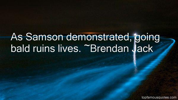 Brendan Jack Quotes