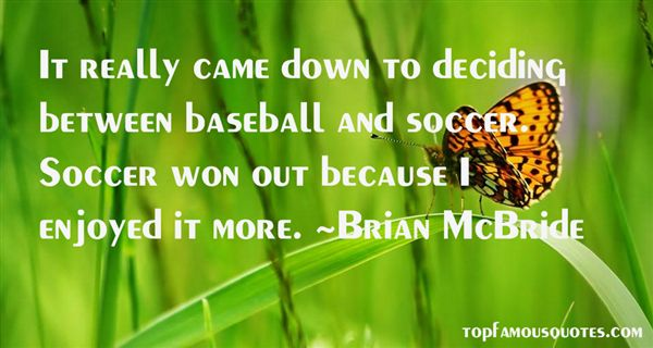 Brian McBride Quotes