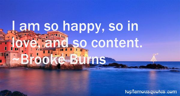 Brooke Burns Quotes