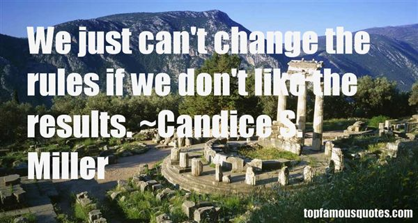 Candice S. Miller Quotes