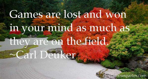Carl Deuker Quotes