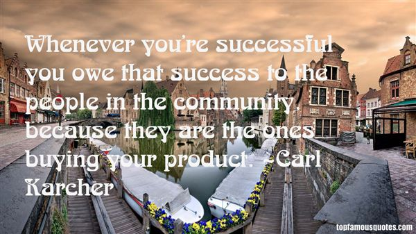 Carl Karcher Quotes