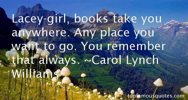 Carol Lynch Williams Quotes
