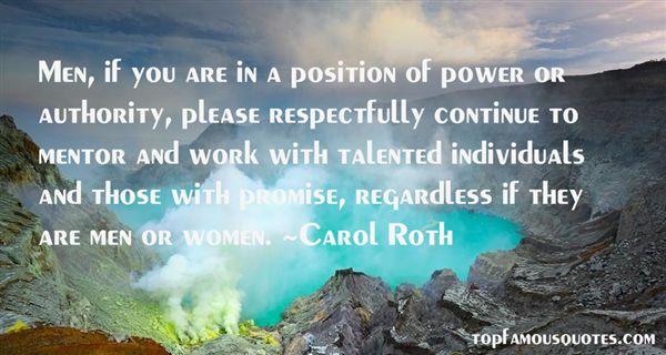 Carol Roth Quotes