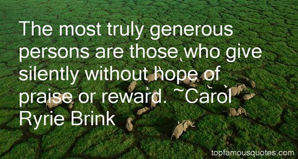 Carol Ryrie Brink Quotes