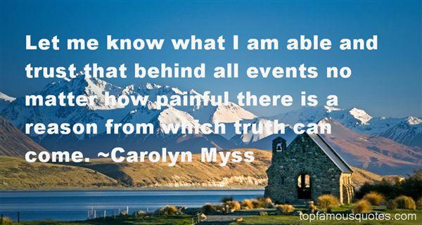 Carolyn Myss Quotes