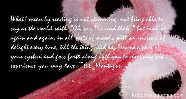 C.E. Montague Quotes