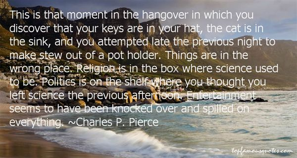 Charles P. Pierce Quotes
