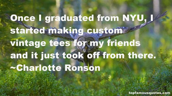 Charlotte Ronson Quotes