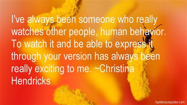 Christina Hendricks Quotes