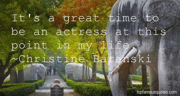 Christine Baranski Quotes