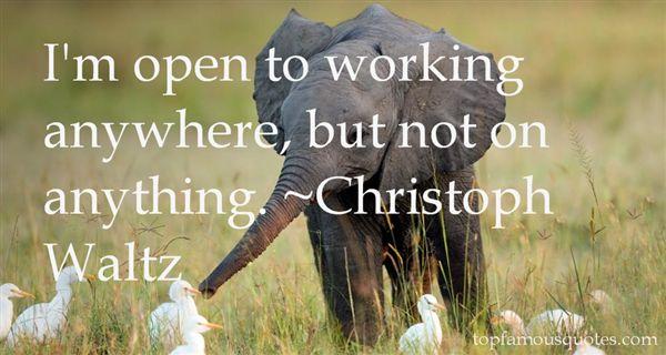 Christoph Waltz Quotes