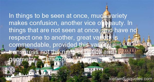 Christopher Wren Quotes