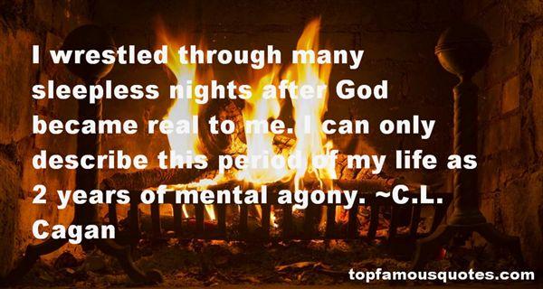 C.L. Cagan Quotes