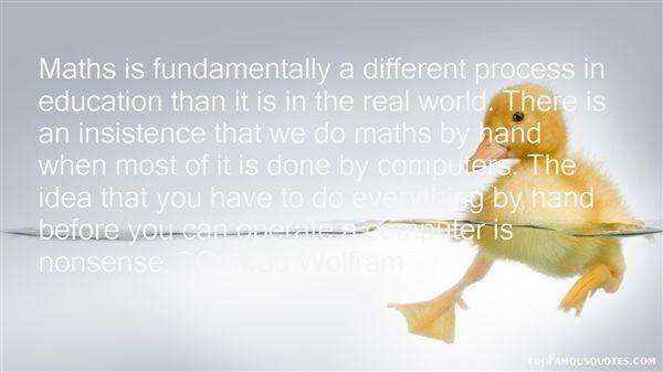 Conrad Wolfram Quotes
