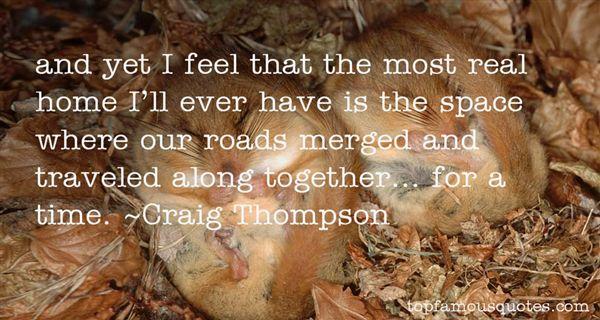 Craig Thompson Quotes