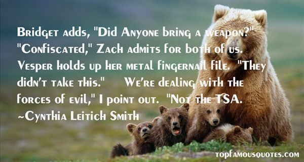 Cynthia Leitich Smith Quotes