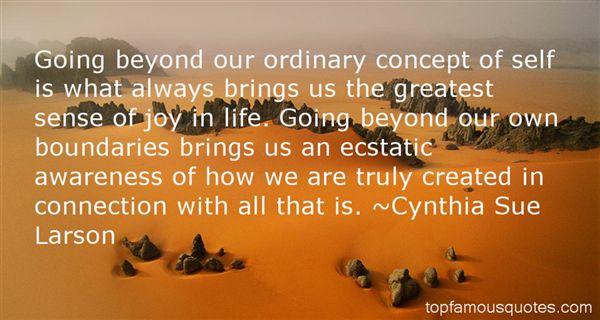 Cynthia Sue Larson Quotes