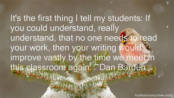 Dan Barden Quotes