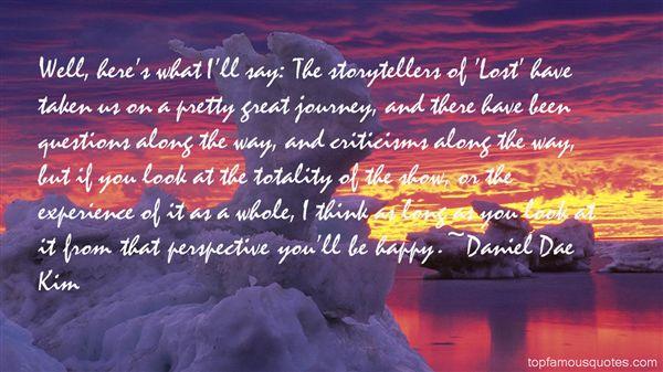 Daniel Dae Kim Quotes