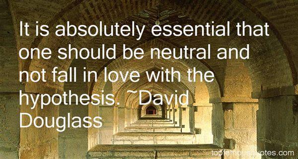 David Douglass Quotes
