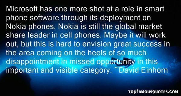 David Einhorn Quotes