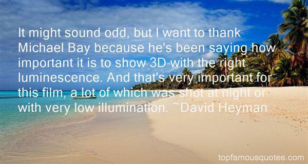 David Heyman Quotes