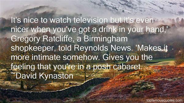 David Kynaston Quotes