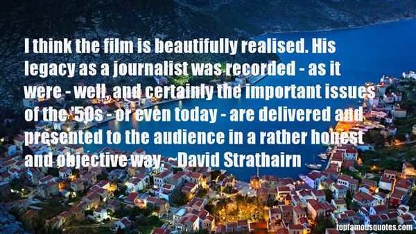 David Strathairn Quotes