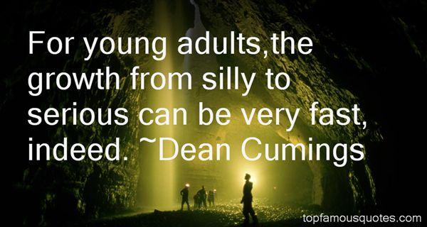 Dean Cumings Quotes