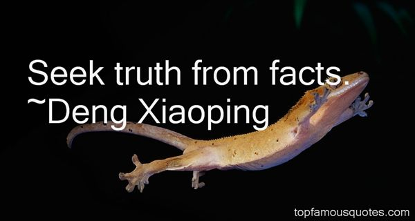 Deng Xiaoping Quotes