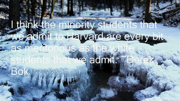 Derek Bok Quotes